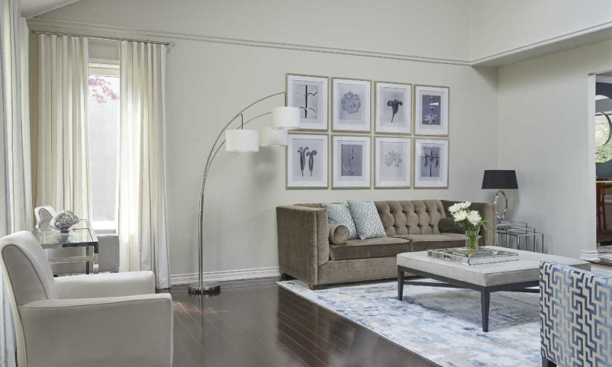 living-room-with-benjamin-moore-classic-gray-with-gallery-wall-and-tri-lamp-featuring-warm-classy-seating-and-ripple-drapery