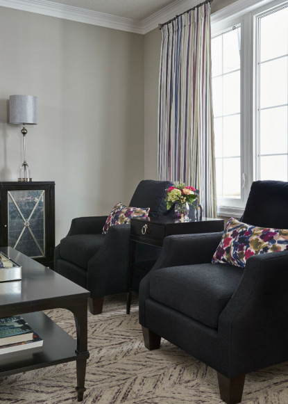 living-room-with-black-club-chairs-interior-design-ontario