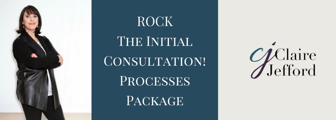 ROCK the Initial Consultation! ~ Processes Package~