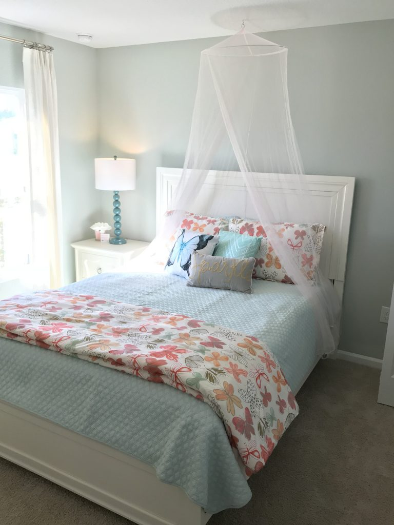 Walls painted Sea Salt by Sherwin Williams. Room decor by Lori Bailey Designs