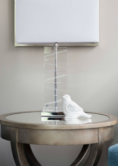 side-table-with-glass-bird-decor-burlington-on-interior-design