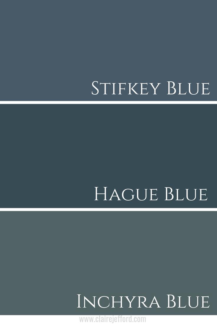 Stifkey Blue & Hague Blue & Inchyra Blue