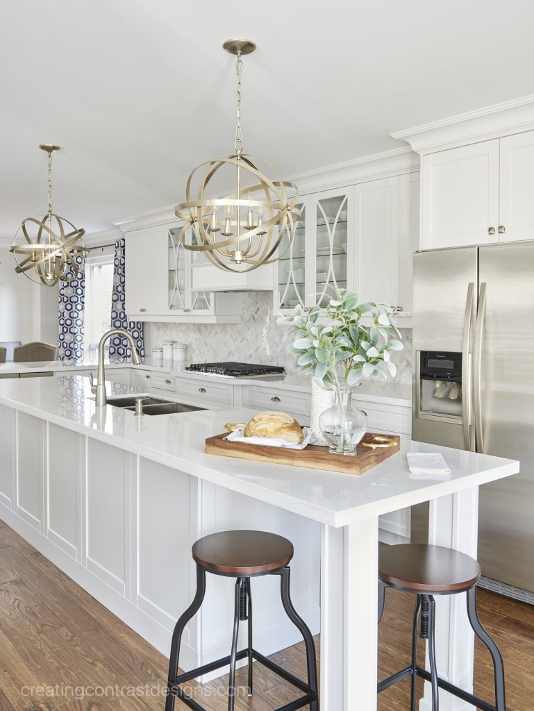Custom kitchen design by Claire Jefford.
