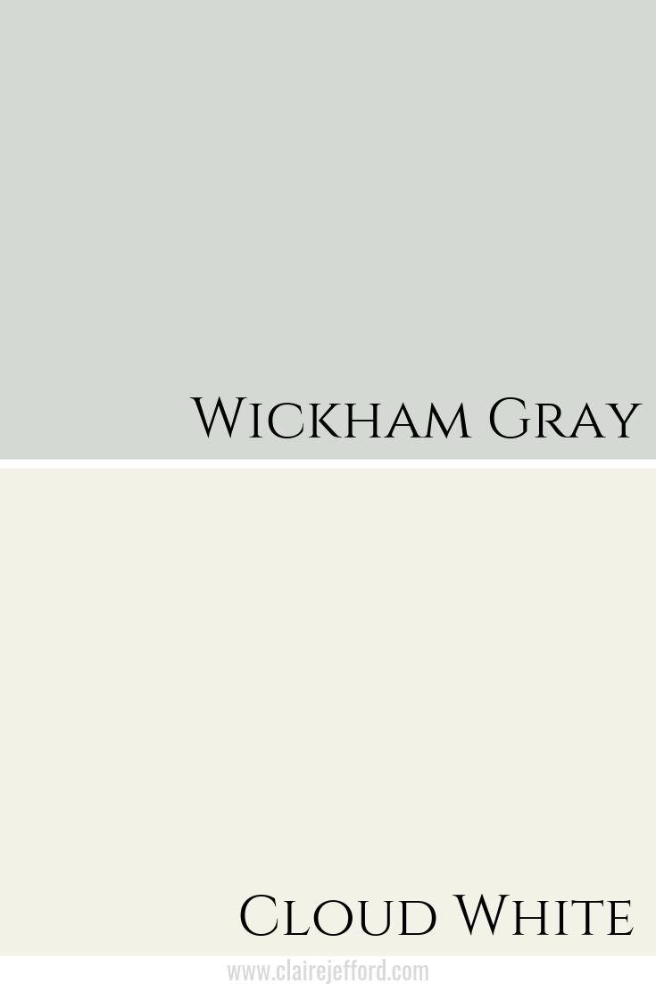 Wickham Gray & Cloud White