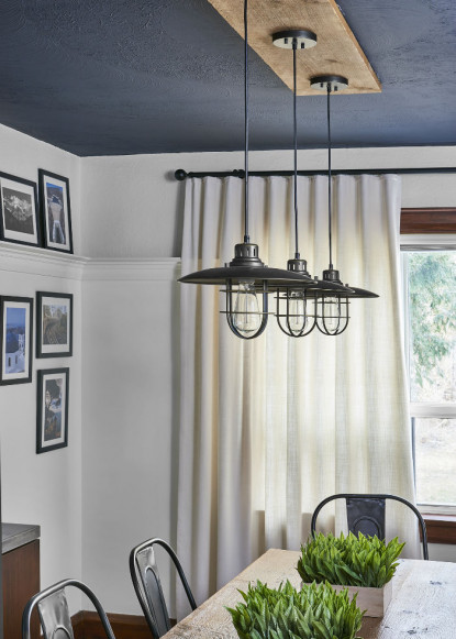 benjamin-moore-hail-navy-painted-ceiling-with-metal-pendant-lights-and-ripple-fold-white-drapery-4
