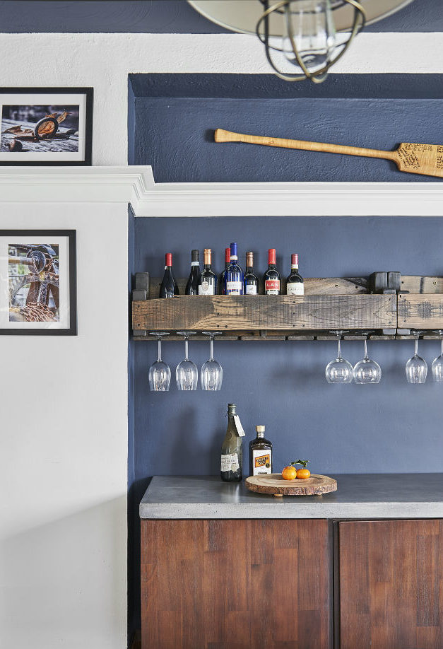 custom-dining-room-cabinetry-with-wine-rail-and-decorative-art-and-benjamin-moore-hail-navy-wall-and-ceiling-2