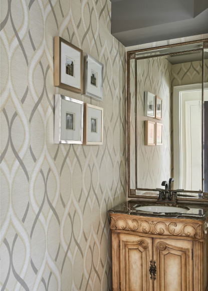 powder-room-with-dolphin-gray-paint
