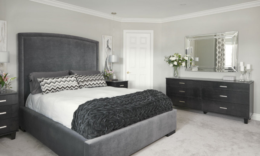 master-bedroom-with-upholstered-gray-headboard-claire-jefford