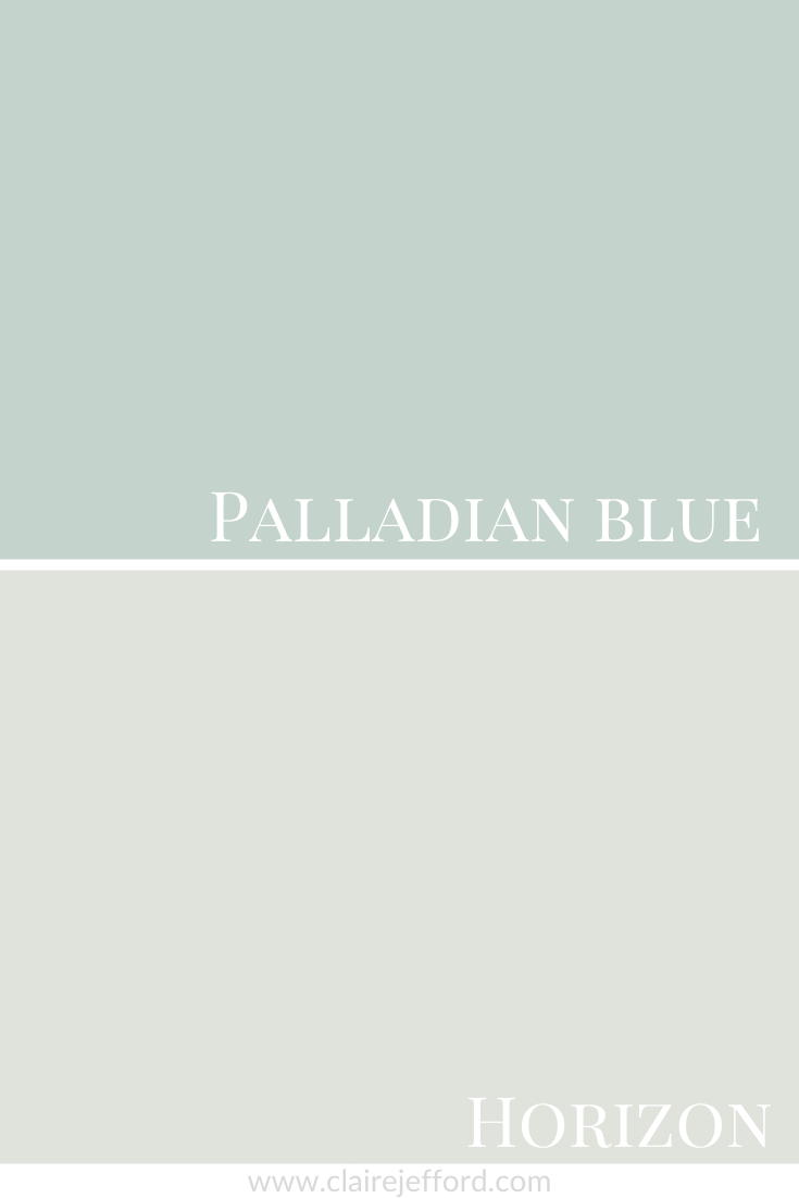 Palladian Blue and  Horizon