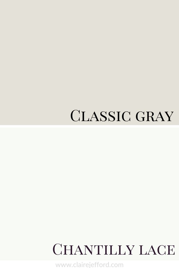 Classic Gray And Chantilly Lace