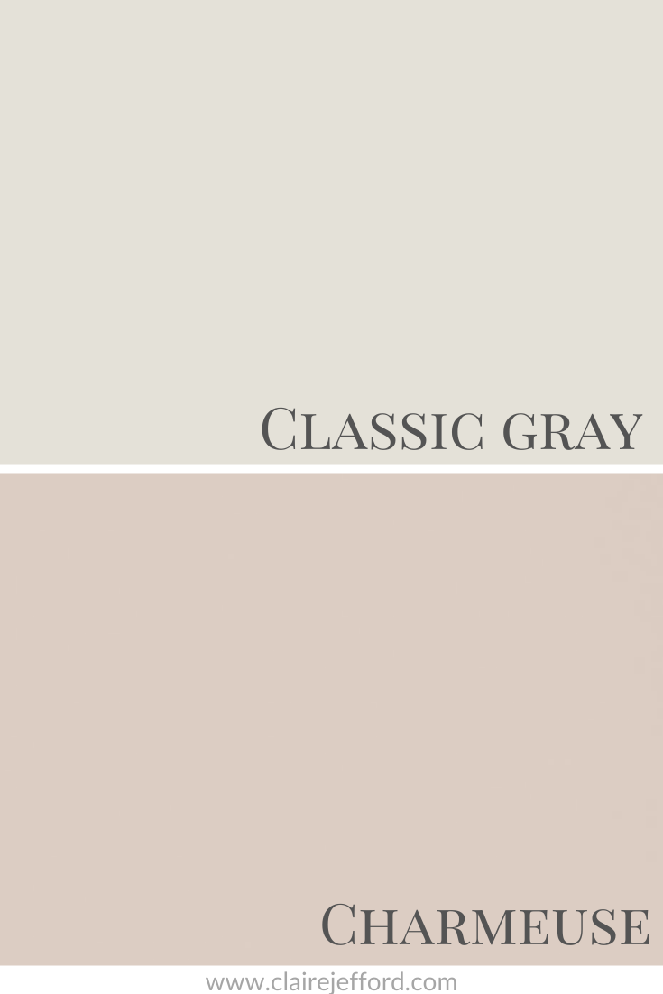 Classic Gray And Charmeuse