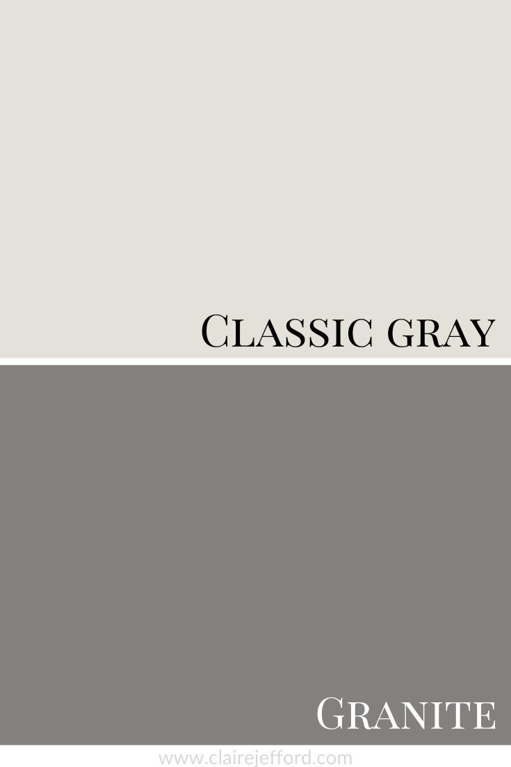 Classic Gray And Granite