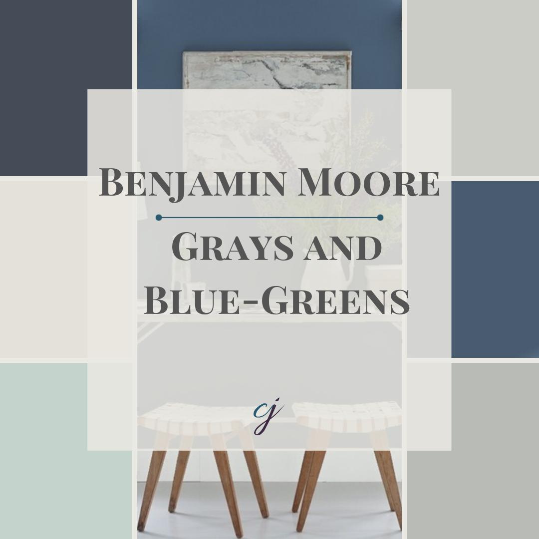 Benjamin Moore Grays & Blue-Greens