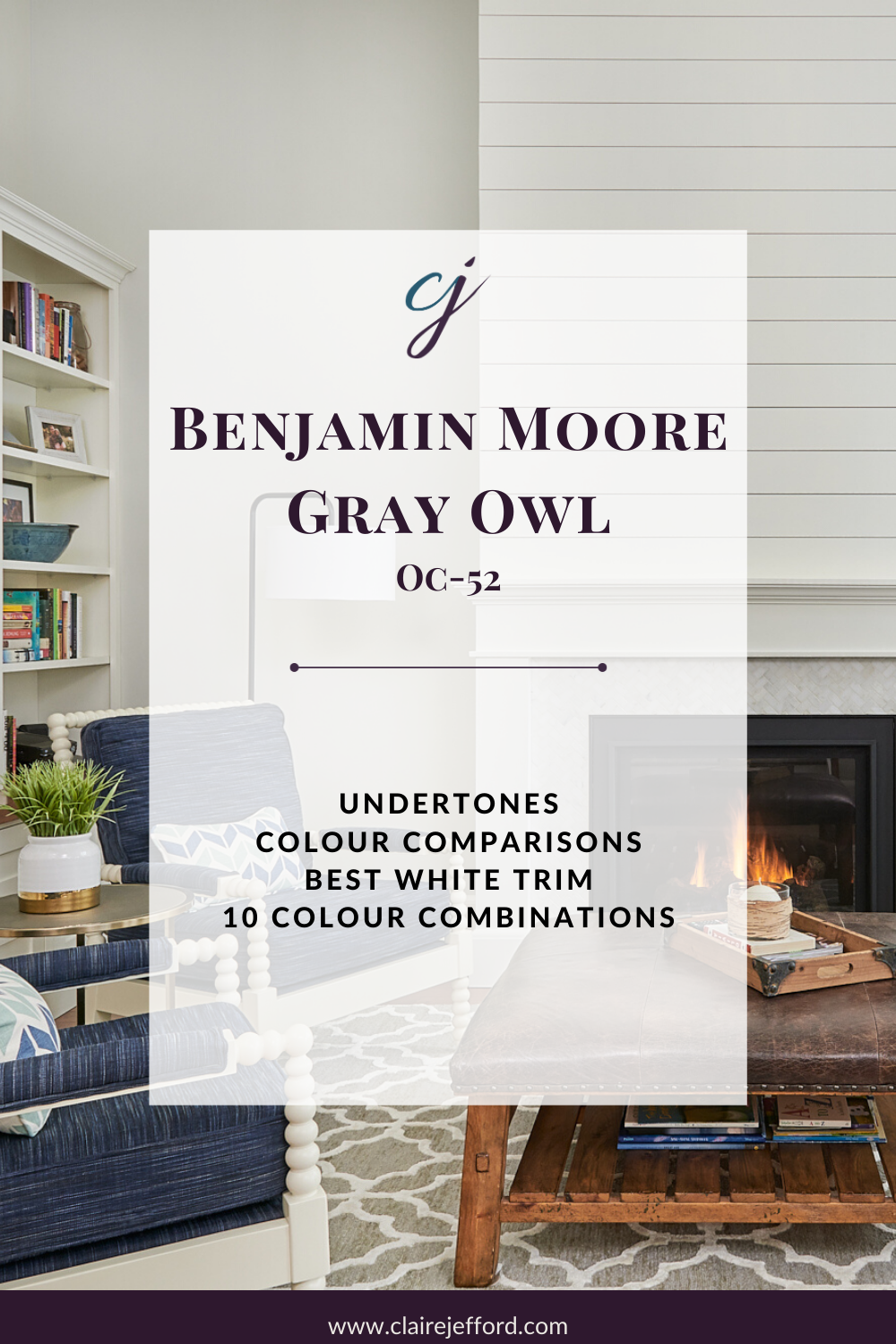Gray Owl By Benjamin Moore Colour Review Claire Jefford,Antique Furniture Decorating With Antiques