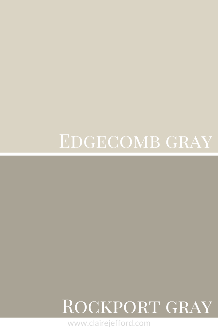 Edgecomb Gray And Rockport Gray