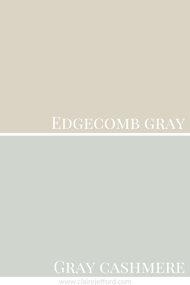 Edgecomb Gray And Gray Cashmere