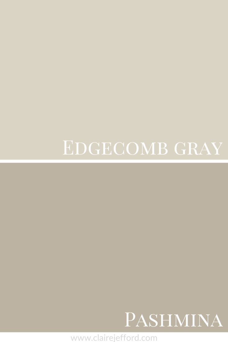 Edgecomb Gray And Pashmina