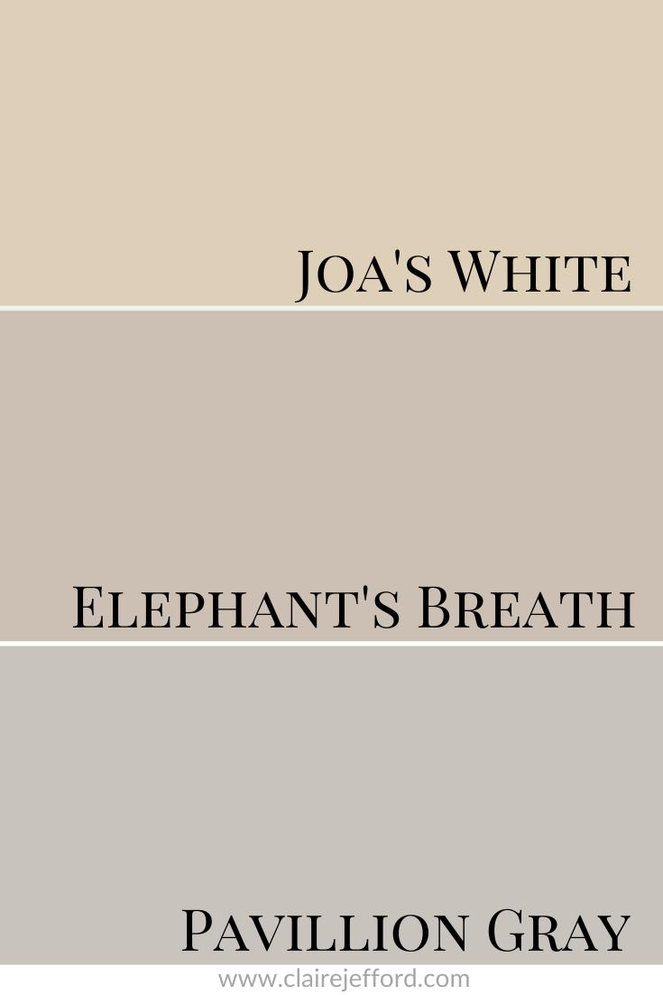 Elephantsbreath Joas White And Pavillion Gray