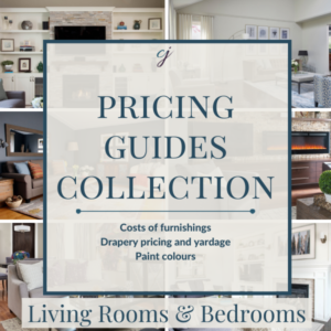 Pricing Guides Collection Claire Jefford Interior Design