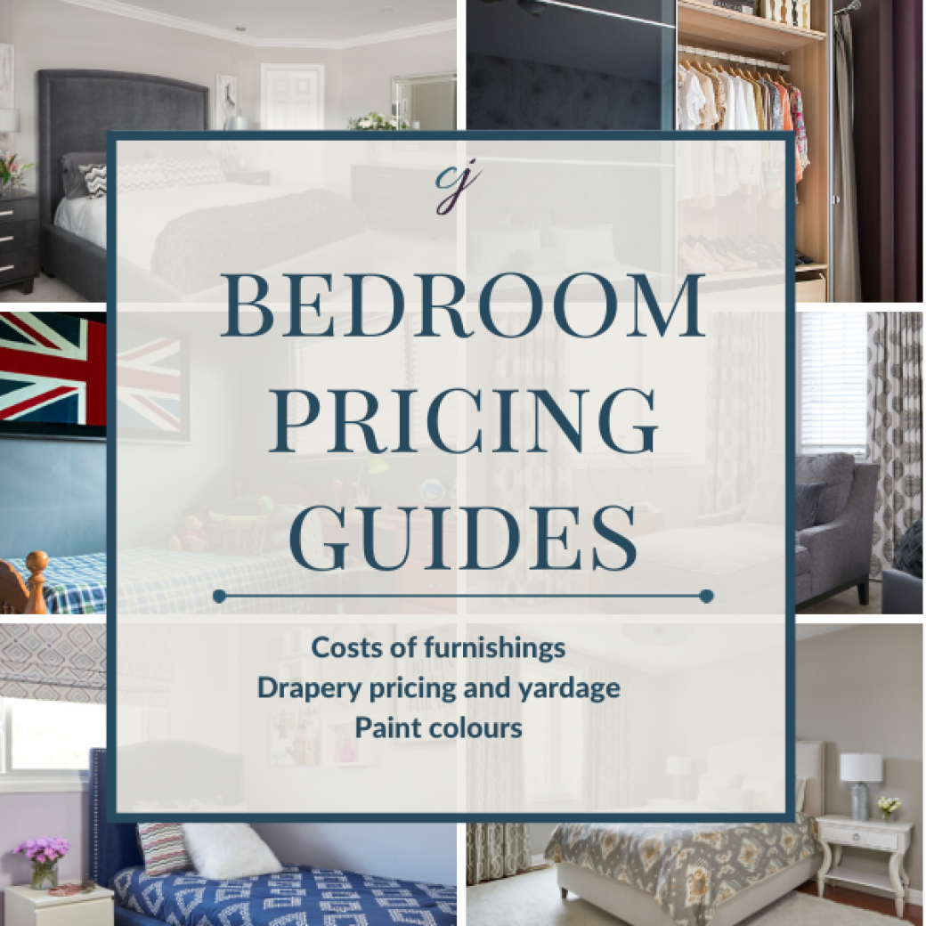Bedroom Pricing Guides