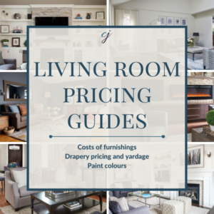 Living Room Pricing Guide Claire Jefford