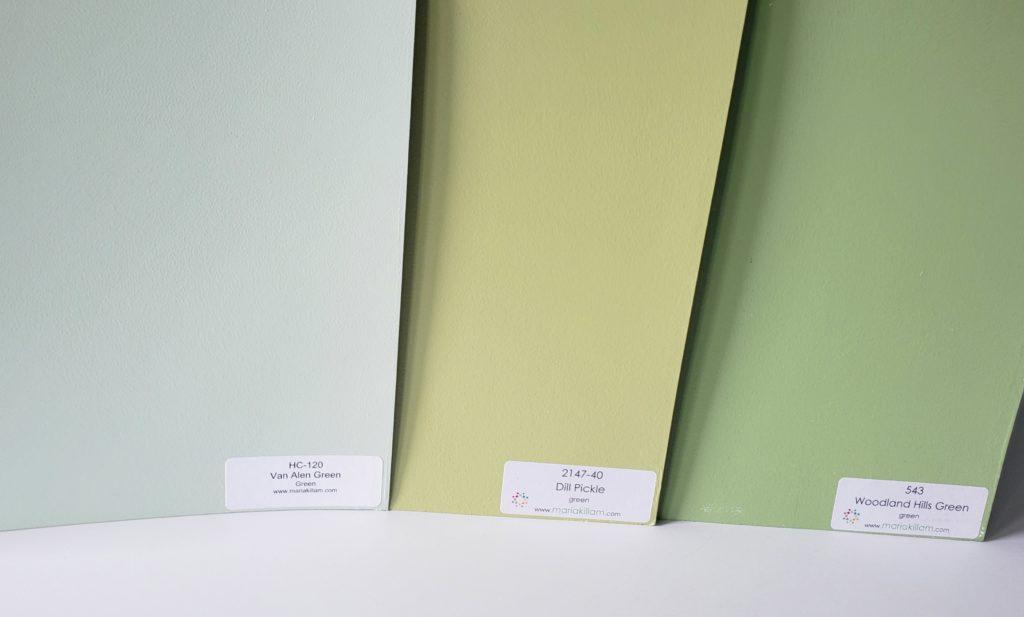 Benjamin Moore Green Paint