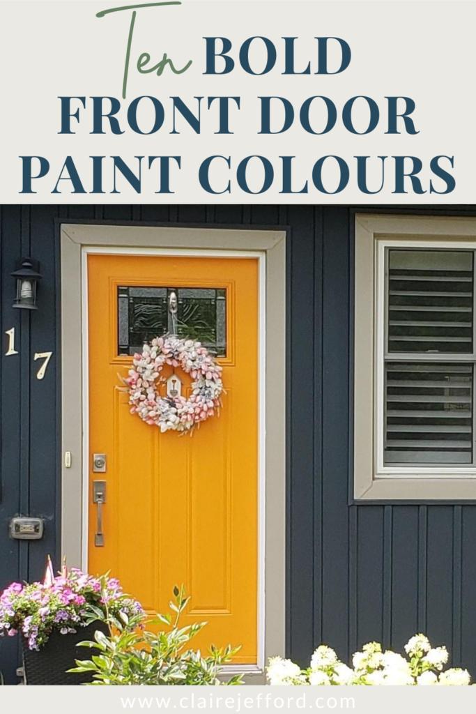 10 Bold Front Door Paint Colors Cdn