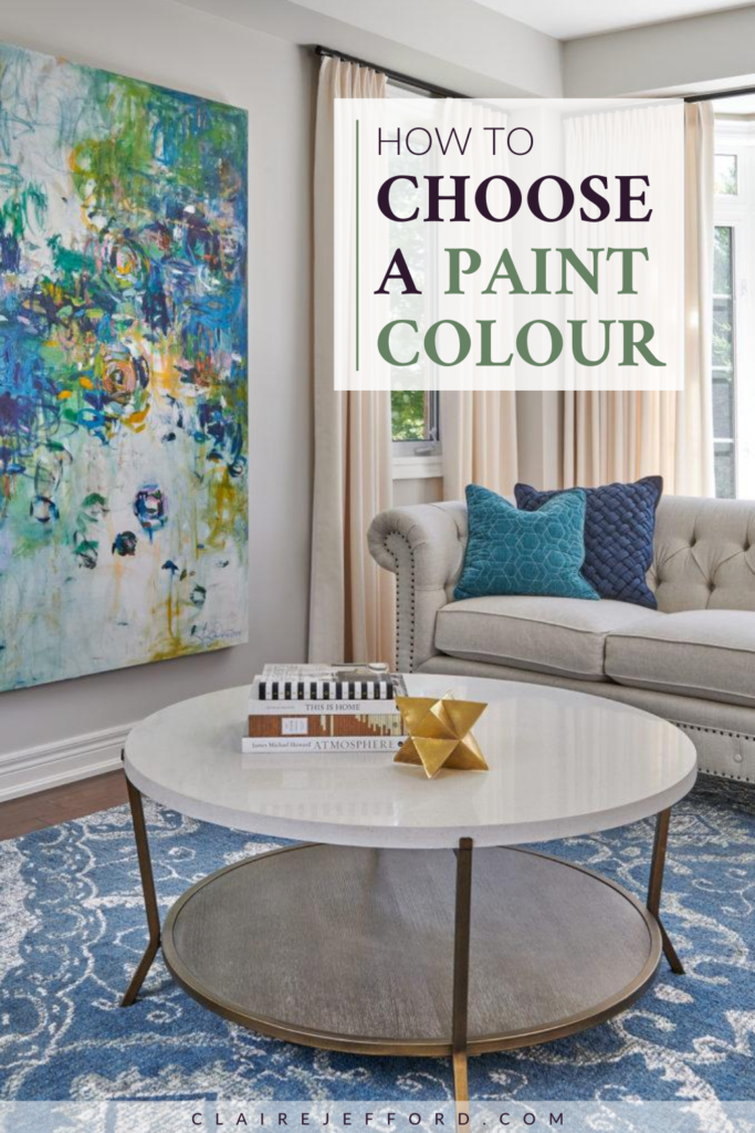 Choose A Paint Colour 1