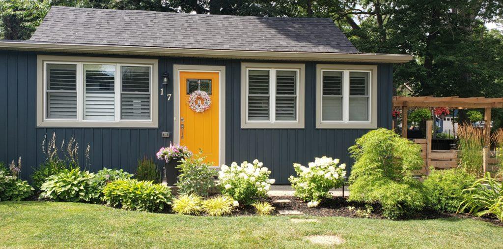 Blue House Yellow Front Door
