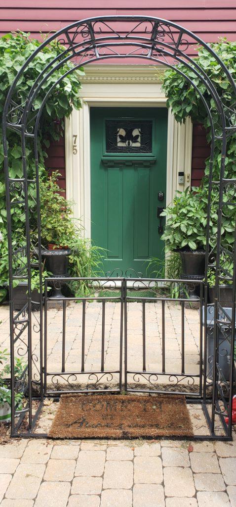 Close Up Green Door 1