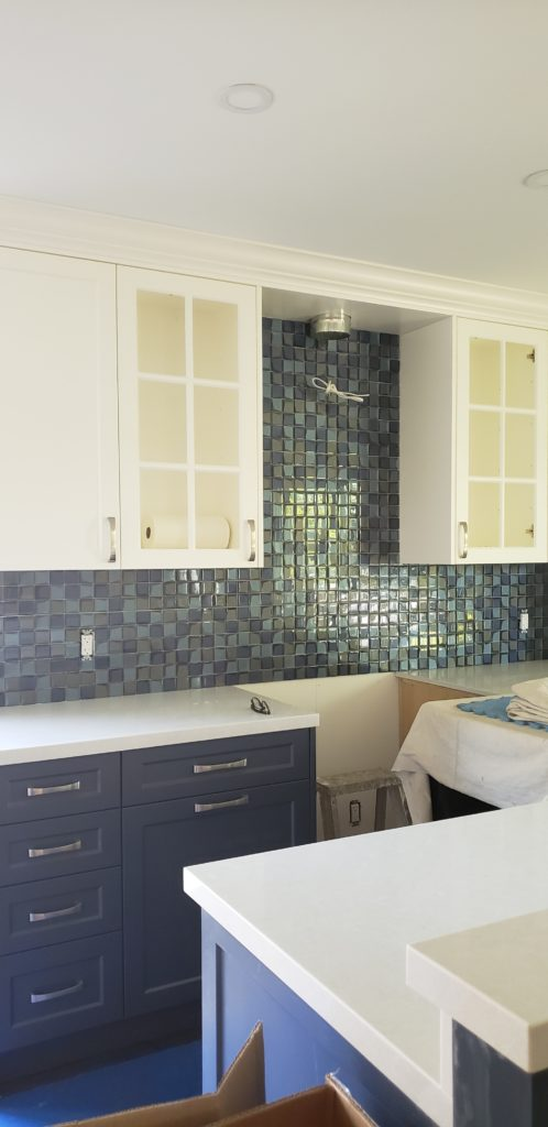 Kitchen Hale Navy And Simply White Benjamin Moore 1