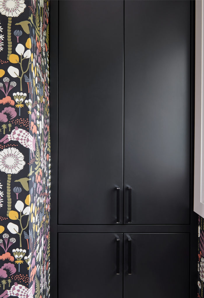 Farrow And Ball Pitch Black Bathroom Cabinet Small Bathroom Design